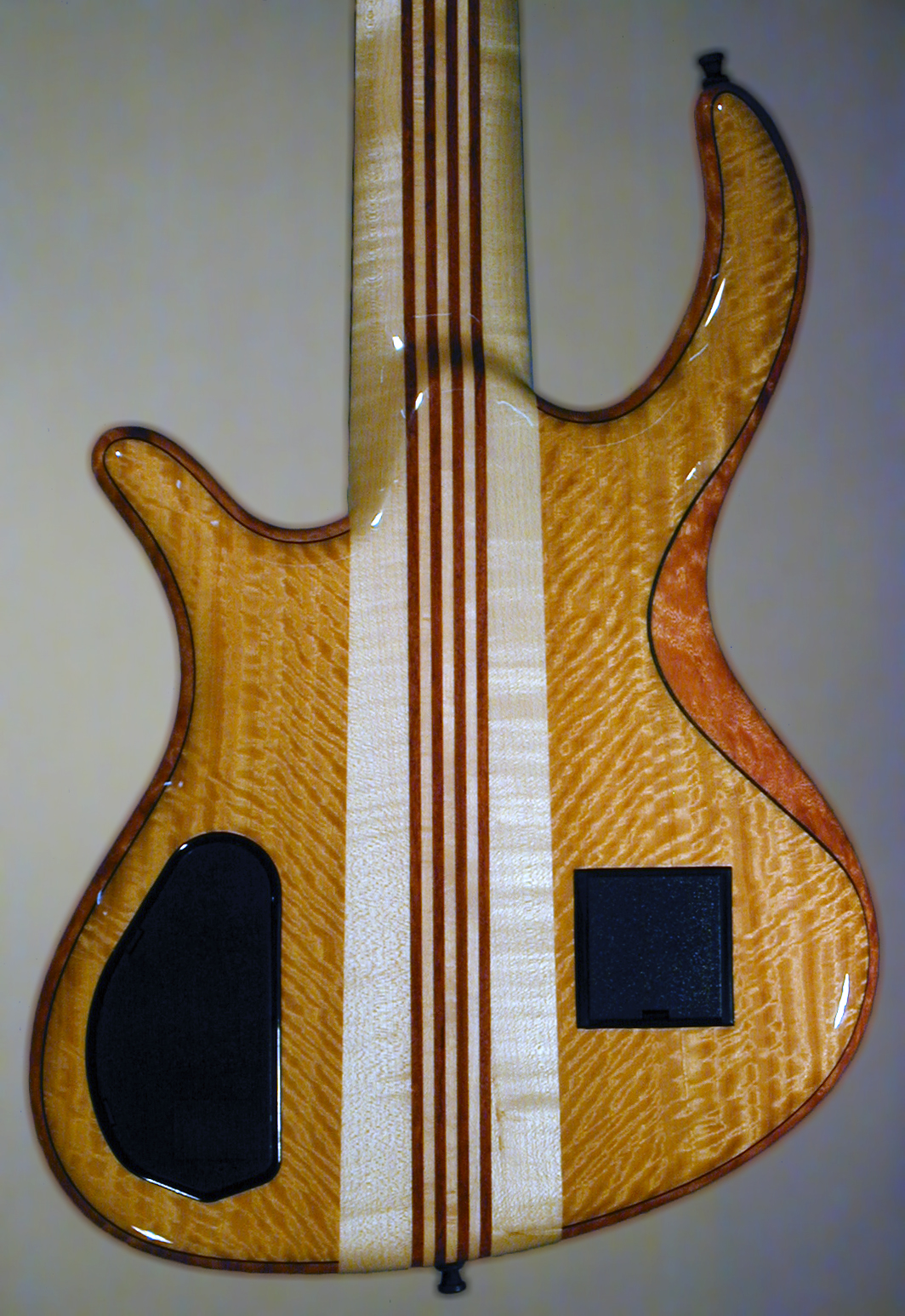 Schack Unique V Muvingue Mahogany Neckthru back