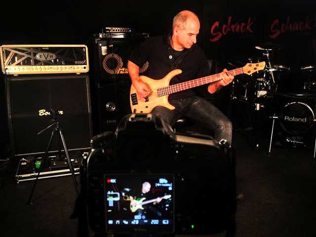 Schack Guitars Groove Session video