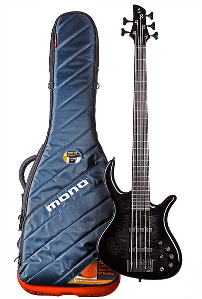 Schack Guitars Unique Bass with MONO Case Gigbag
